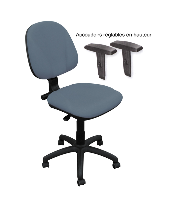 chaise dactylo 1040 vente en ligne de si ge de bureau burostock. Black Bedroom Furniture Sets. Home Design Ideas
