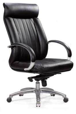 Fauteuil direction cuir 8700