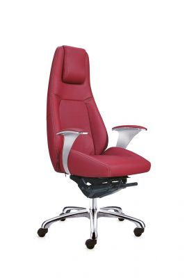 Fauteuil direction Modena rouge